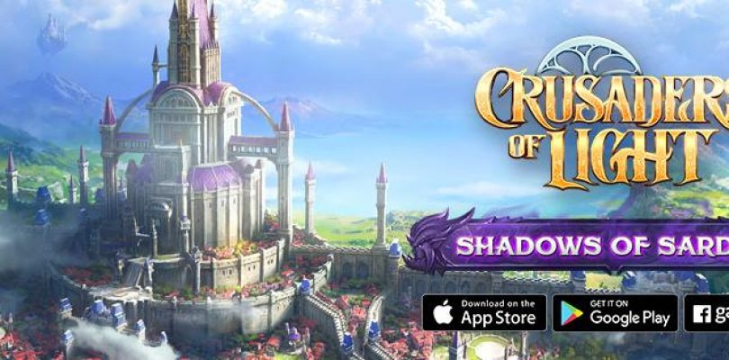 Crusaders of Light recebe a update Shadows of Sardar!