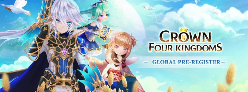 Crown Four Kingdoms entra em pré-registro global para mobile